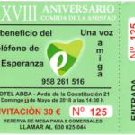 """El Teléfono de la Esperanza de Granada celebra """"La comida de la Amistad"""" el domingo 13 de mayo"""