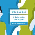 900 116 117  línea de apoyo gratuita de internet segura para niños