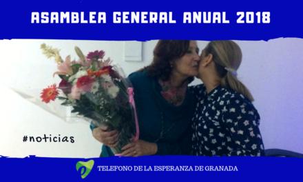 El Teléfono de la Esperanza de Granada celebra su Asamblea General Anual