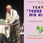 El sábado 27 de abril te esperamos en una nueva obra de teatro