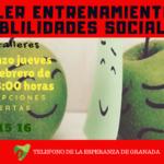 Taller entrenamiento en Habilidades Sociales