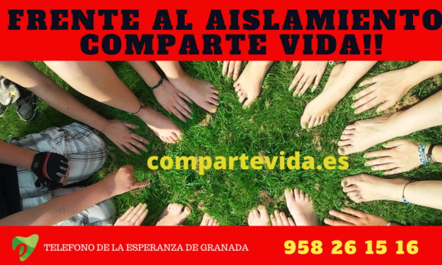 FRENTE AL AISLAMIENTO COMPARTE VIDA