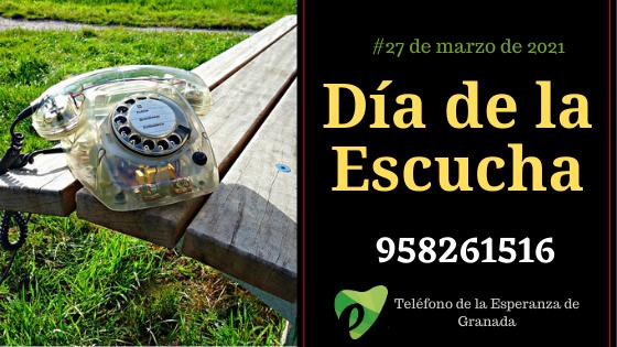 El Teléfono de la Esperanza de Granada celebra el día de la escucha el 27 de marzo